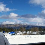 View from standard motel room - January 2013