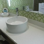 New modern bathroom sink