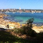 Beautiful view of Manly harbor