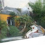                    The garden view of Paris Oasis from our Liette Suite