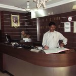                    Front Office of the hotel