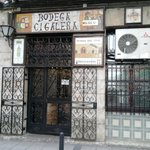Street view if Bodega Cigalena