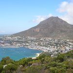                    view on simons town