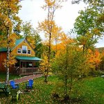  Green Chalet and Changing leaves!