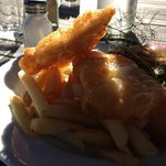 Beer battered fresh fish - what better?
