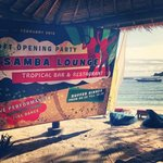                                      samba lounge opening
