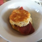  Side of country ham biscuit