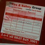 Out of date fire checks??? Insurance???
