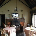 The revamped dining room including Sat TV and free WiFi