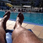                                      A week in the sun around the pool - Fantastic !!!