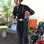                    Ready to scuba