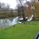                                      View of the river Avon from the veranda
