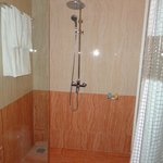 Shower in the room