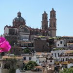                    View of Taxco, a fascinating 16th century city.