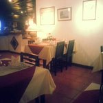inside this restaurant you feel like your in italy it amazing