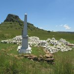                    Memorial at Isandlwana
