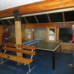                    Ping Pong Table outside the Ski Locker Room