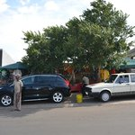                    The car wash on Vilakazi Street