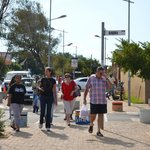                    Strolling down Vilakazi Street