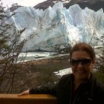                    El Glaciar Perito Moreno, lado sur