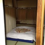 twin room- 2nd bed with its own room