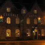 Eskdale Hotel at night