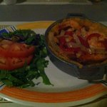  mofongo with butter-cook shrimp
