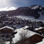                    Morzine - view from Plan des Pierrys chalet