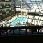 view of the indoor pool from our room