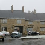                    Cartwright Hotel, Aynho, on a snowy February morning