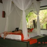 my room, loved it.  very relaxing