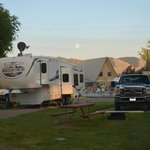                    RV camping at Missoula KOA
