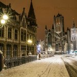 Ghent by winter