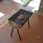 Braai on terrace