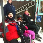                                      SKI lift at Swiss Valley