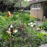 Surround yourself with artful garden displays...leave inspired