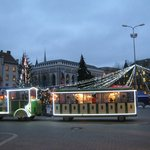 Riga's sightseeing train