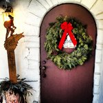 Front door....so welcoming!!