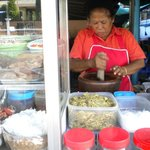 somtam stall opposite hotel (from afternoon)