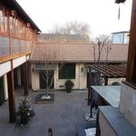                                      Courtyard; view from the dining room
