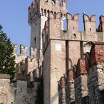                                      The old castle of Sirmione!
