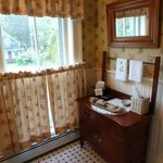                                      Parkhurst bathroom - antique washstand