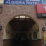                    Hotel entrance