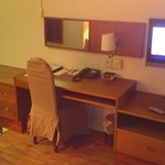 The desk, room #322