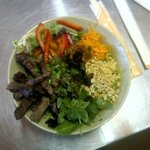 The New and improved Thai Beef Salad (Veggie also available)
