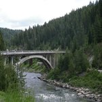  Rainbow Bridge on Payette River (1/2 hour from motel)
