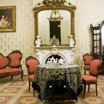 The Front Parlor was designed for the formal entertaining of the plantation guests.