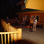 Dance on our deck