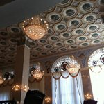                    Chandeliers of dining room