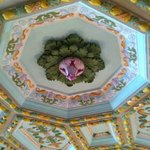 Detail of ceiling decoration; very Italian